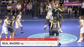 U16M - REAL MADRID vs STELLA AZZURRA ROMA.- Torneo Internacional Cadete La Orotava 2018
