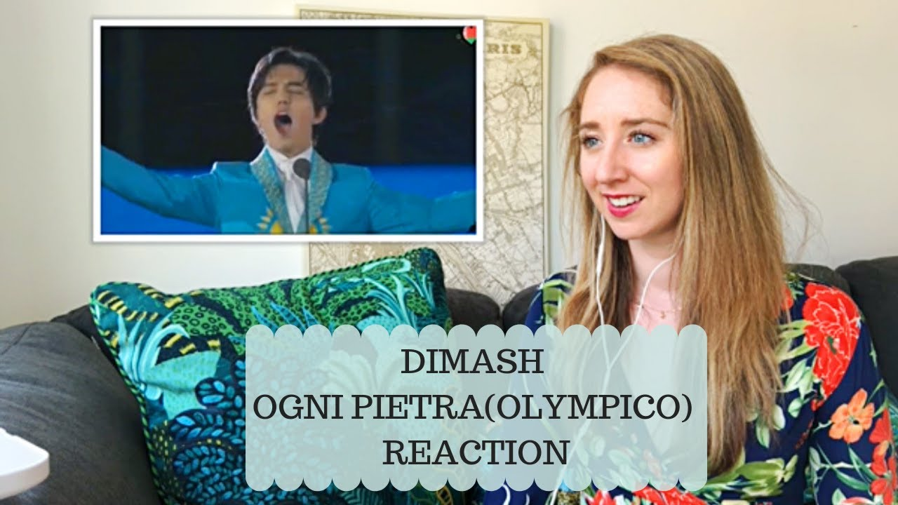 Voice Teacher Reacts: Dimash- Ogni Pietra(olympico)~ 2nd European Games In Minsk LIVE