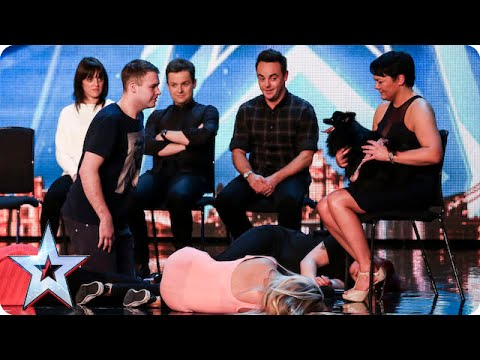 Hypnodog & Her Assistant Have The BGT Audience Mesmerised - Literally!