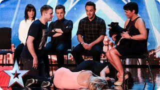 Whatever you do, DON\'T look into Hypnodog\'s eyes... | Britain\'s Got Talent 2015