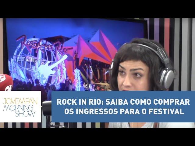 Rock In Rio: saiba como comprar os ingressos para o festival l Morning Show