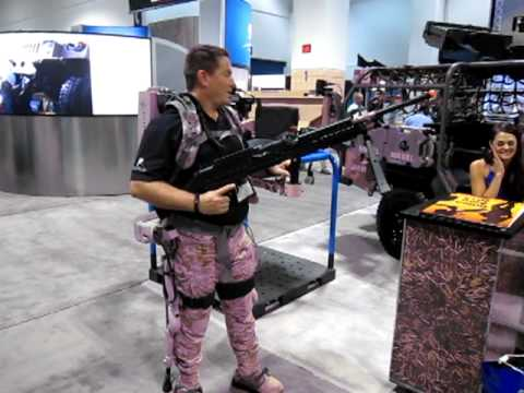 Lockheed Martin Human Universal Load Carrier (HULC) Biomechanical Exoskeleton at SOFIC 2012 1
