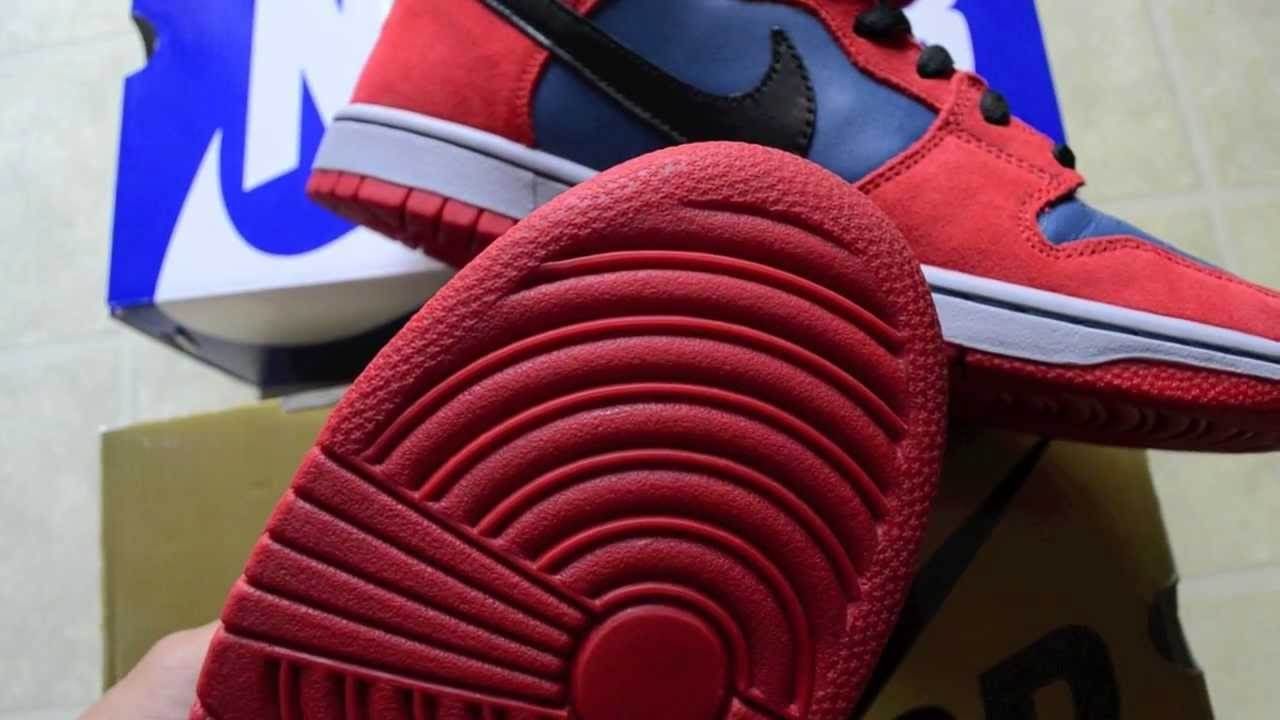reputable site f2aaf 1f593 Nike Dunk Mid  High Pro SB 46  47 Spiderman  Venom Review With On Feet