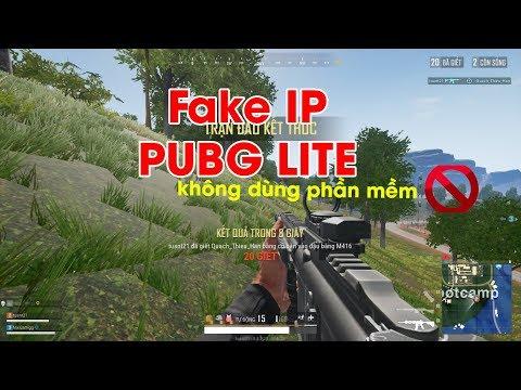 Hướng dẫn Fake ip chơi PUBG Lite đơn giản không cần phần mềm