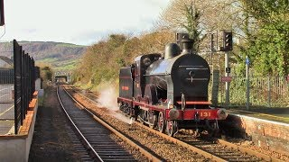 Q class steam locomotive number 131 on Trial runs - Sunday 5th of November 2017
