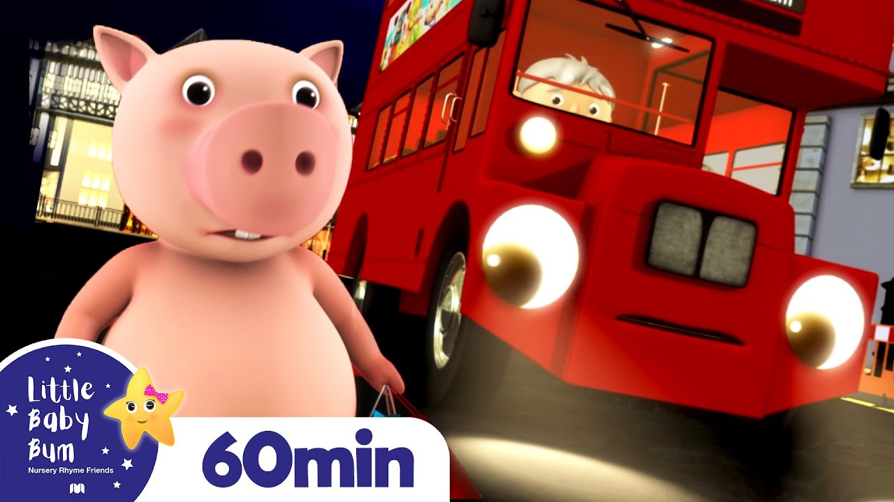 Wheels On The Bus +More Nursery Rhymes and Kids Songs   Little Baby Bum
