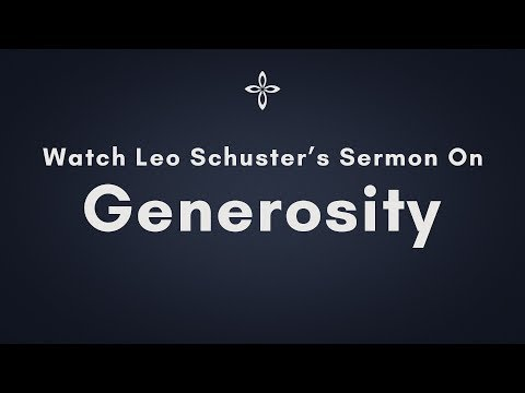 Knowing Generosity | 1 Chronicles 29:10-17