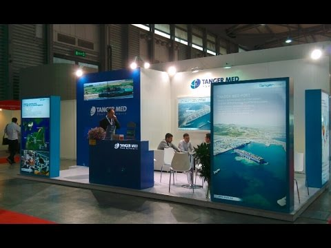 Tanger Med Port Authority @ transport logistic China 2014 Stand builder by YiMu Exhibition Services