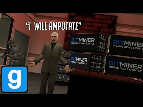 Mayor Catches Me Mining Bitcoin in his Office! (GMOD)