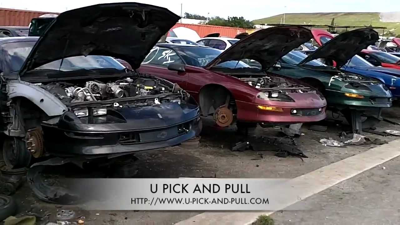U Pick and Pull Salvage Yards - YouTube