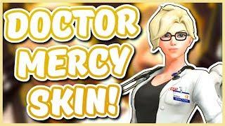 Overwatch - NEW DOCTOR MERCY SKIN (New Mercy Lore Story!)