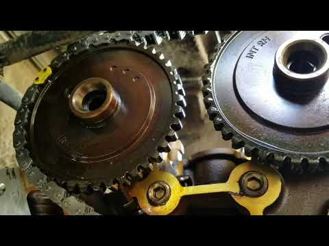 Mercury Sable 3.0  Timing Chains Part 3