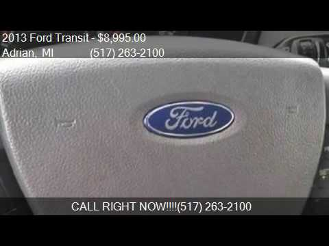 2013 Ford Transit  for sale in Adrian, MI 49221 at Keith's A