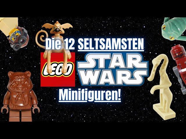 Die 12 seltsamsten LEGO Minifiguren die jemals erschienen sind!