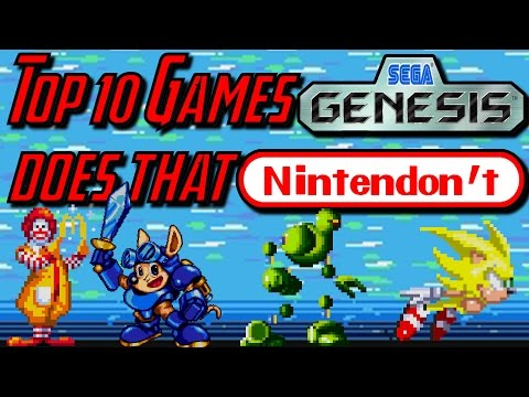 Top 10 Sega Genesis Exclusive Games (Genesis Does What Nintendon