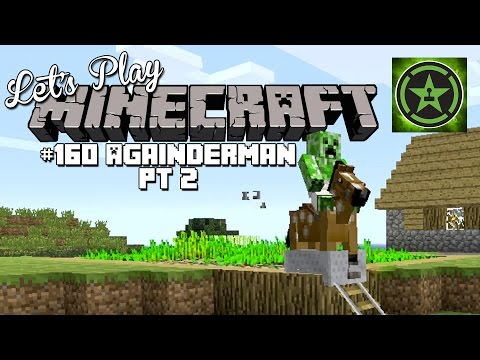 Let's Play Minecraft – Episode 160 – Againderman Part 2