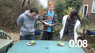 Boy Vs Girl - JAFFA CAKE EATING COMPETITION | Episode #1