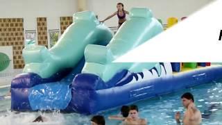 Jeu Gonflable Air Et Volume Parcours Aquatique Grand Modèle