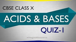 mcq #acids and bases (quiz) : 10th Chemistry: CBSE Syllabus : NCERT X Science
