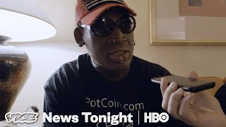 Sarah Huckabee Sanders Called Dennis Rodman To Thank Him On Behalf Of Trump (HBO)