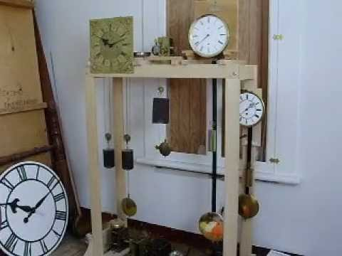 My Clock Test Stand Youtube