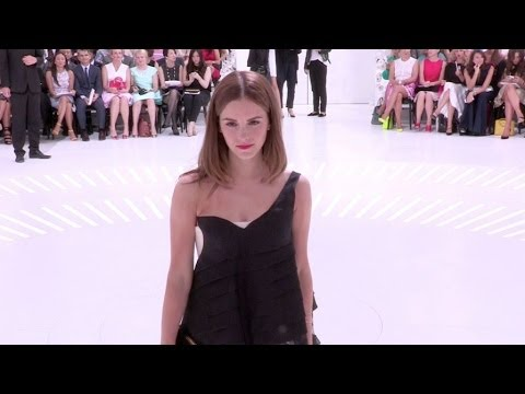 Emma Watson at Christian Dior - Paris Fashion Week : Haute-Couture