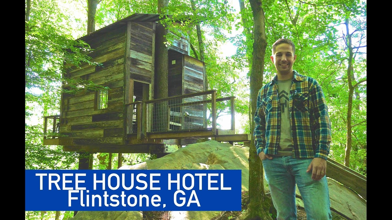 You Can RENT This AMAZING Tree House (tiny House In GA
