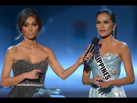 PHL's Janine Tugonon is Miss Universe 2012 1st Runner-up
