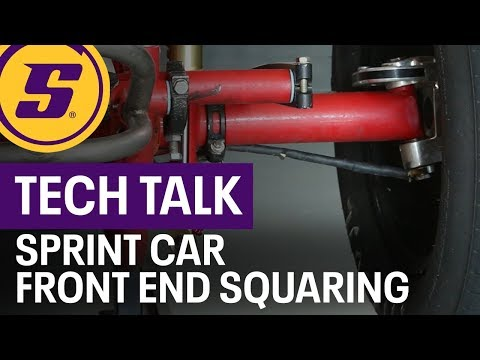 Tech Talk Sprint Car Front End Squaring