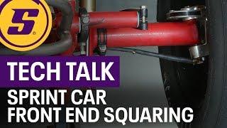 Tech Talk Sprint Car Front End Squaring