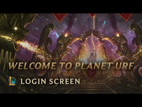 Welcome to Planet Urf | Login Screen - League of Legends