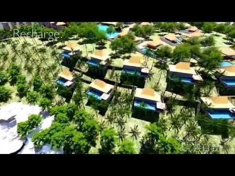 Black Bamboo Resort near Lombok Island, Indonesia