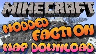 Minecraft: Xbox 360/One/PS3/PS4/WII U - Modded Factions Map W/Download