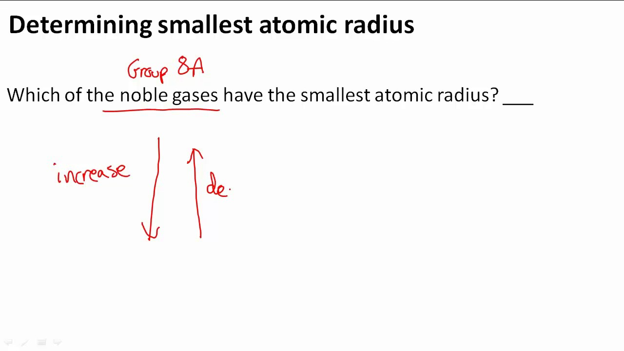 Determining smallest atomic radius youtube gamestrikefo Image collections