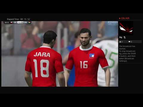 Chile vs Bolivia   PS4 Live Broadcast (FIFA 15)