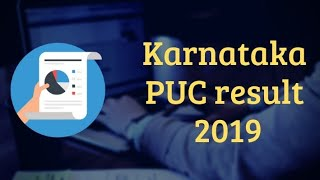 1st puc & 2nd puc result in mobile app 2019