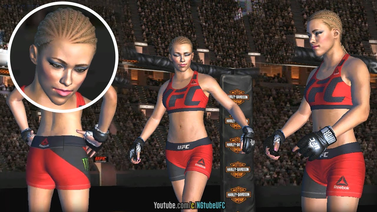 ca7c631f8f UFC mobile Paige VanZant PREVIEW (MOD - custom fighter