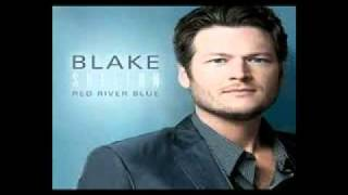 Blake Shelton - Red River Blue Lyrics [Blake Shelton