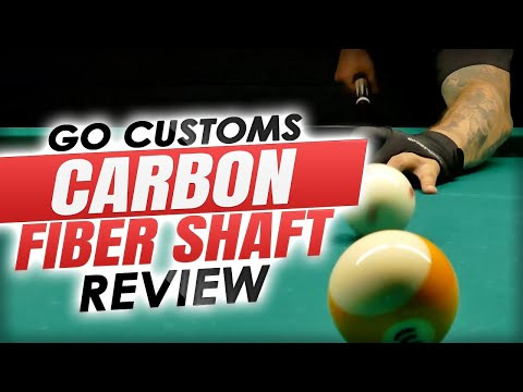2021 Pool Cue Reviews: GO Customs SL Carbon Fiber Shaft for Pool Cues