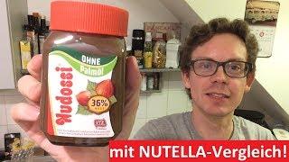 Nudossi ohne Palmöl im Test: Bessere Nutella Alternative und was ist da drin?