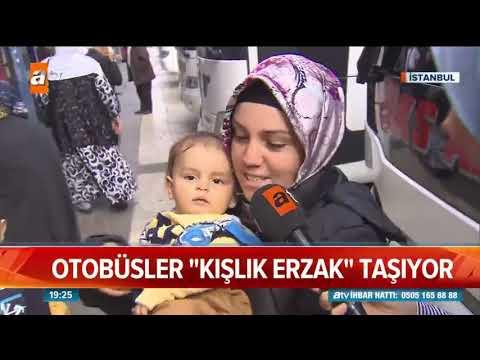 Memleketten İstanbul'a Kışlık Erzak.. - Atv Haber 9 Kasım 2018