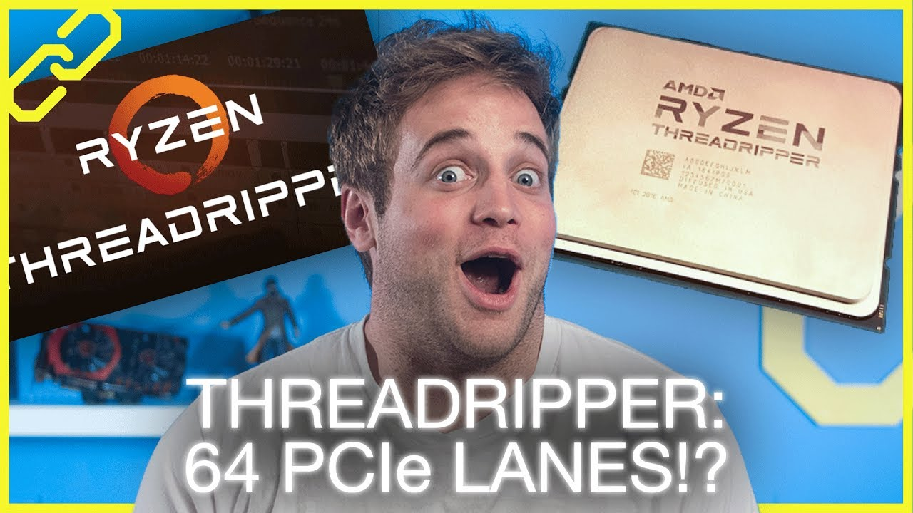 AMD Threadripper + (not) Vega details, Intel wireless Vive, Qualcomm laptops