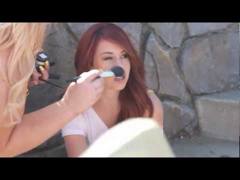 Behind the s of Jillian Rose Reed's photoshoot