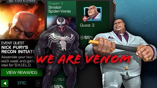 Nick Fury's Recon initiative-Sinister Spider Verse (Ch. 3)Boss fight- Marvel Contest of Champions