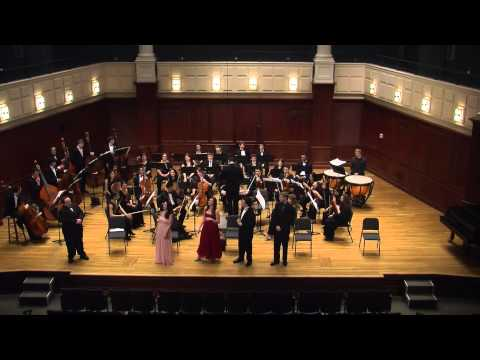 The Impresario by W. A. Mozart: TCNJ Lyric Theater / Orchestra 2013