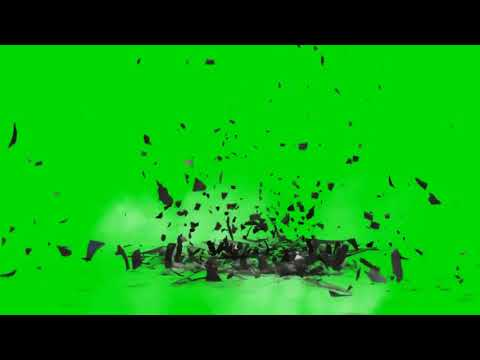 Earth hancock green screen effect
