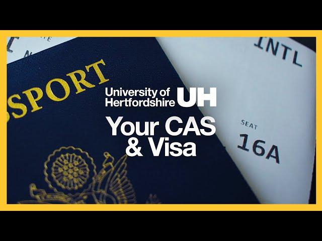 International Student Guidance - Your CAS & Visa
