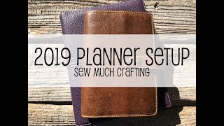 2019 Planner Setup | Sew Much Crafting