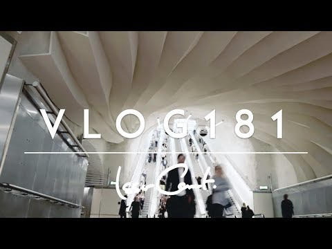 STOCKHOLM CITY // THE NEW TRAIN STATION // VLOG 181