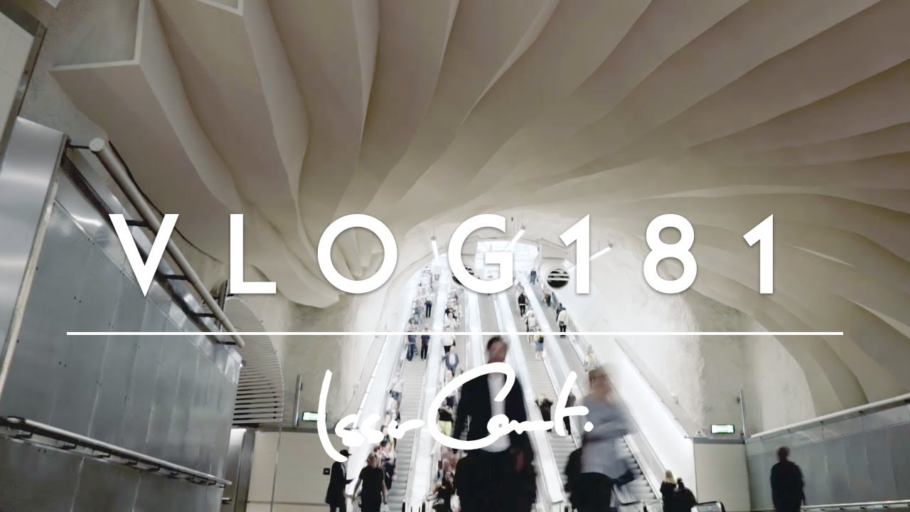 Stockholm City The New Train Station Vlog 181 Youtube